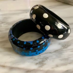 Great Hand Painted Vintage Bracelets